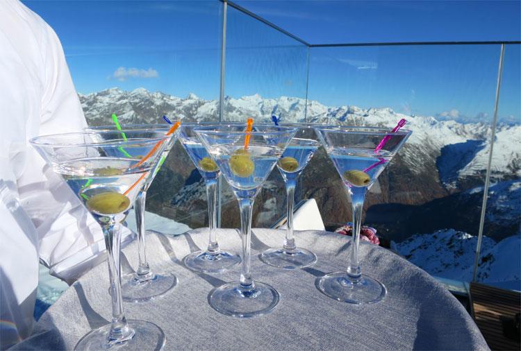 Gourmetrestaurant Wodka Martini, ice Q, Gaislachkogel, Sölden, Tirol © Andrea David