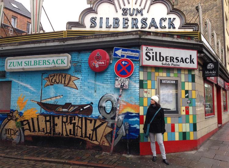 """Zum Silbersack"", St. Pauli, Hamburg © Andrea David"