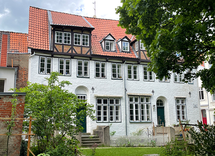 Aegidienkirchhof, Lübeck