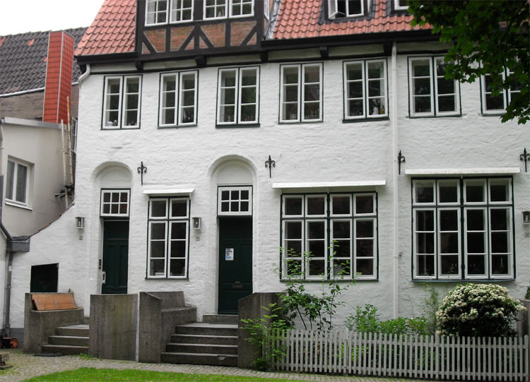 Aegidienkirchhof, Lübeck © Matthias Gebauer