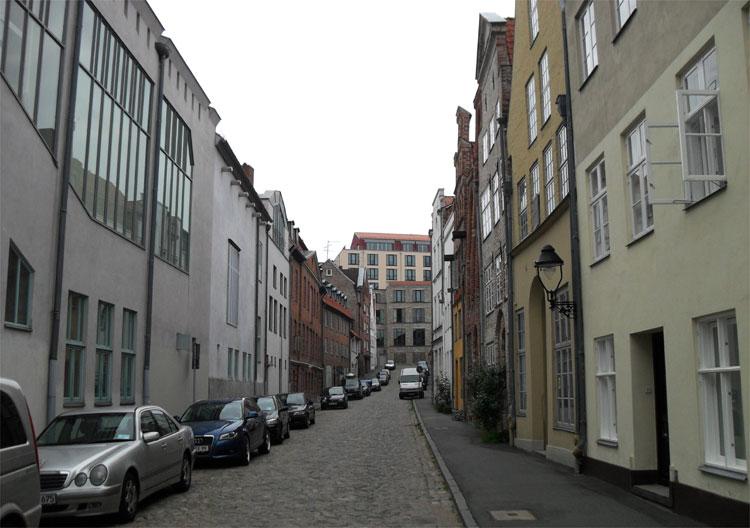 Seitenstraße Depenau, Lübeck © Matthias Gebauer