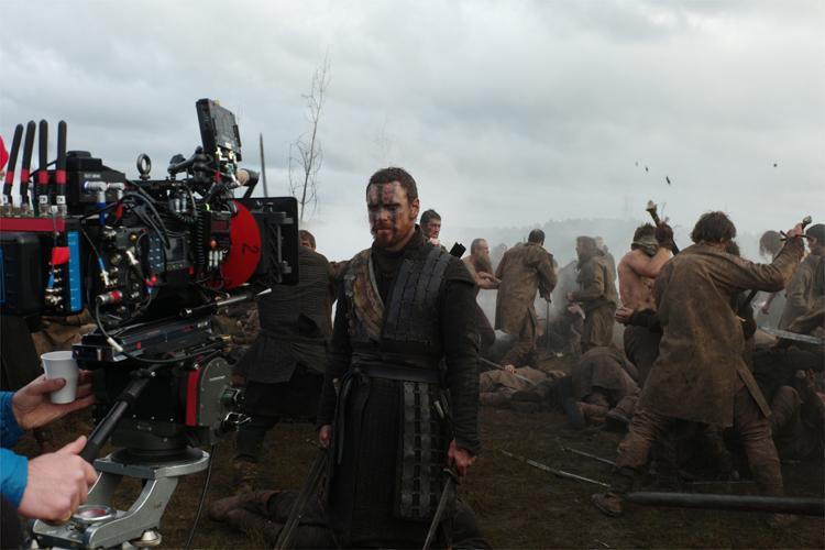 """Blick hinter die Kulissen von """"Macbeth"""" © Studiocanal"""