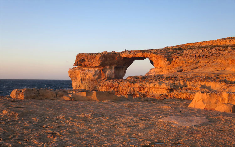 """Game of Thrones"" Drehort Azure Window auf Gozo © Andrea David"