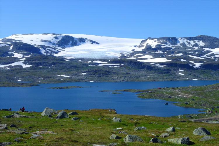 Hardangerjøkul bei Finse, Norwegen © Andrea David