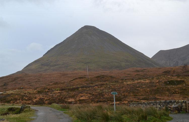 Blick auf den Glamaig, Skye © Doreen Reeck