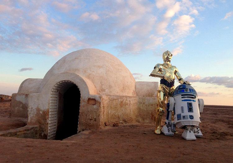 Lars Homestead, Schott el-Djerid, Tunesien © Star Wars Fans Nürnberg e.V.