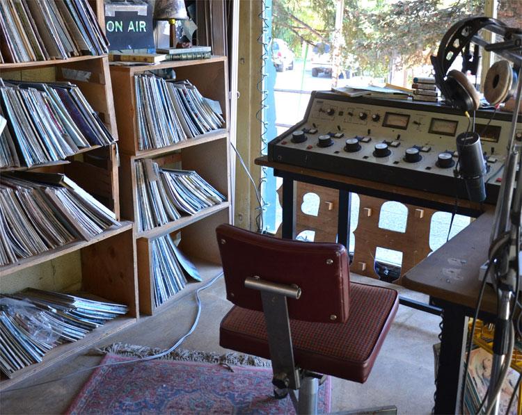 Radiostation KBHR, Roslyn, Washington, USA © Alfred Rohrmoser