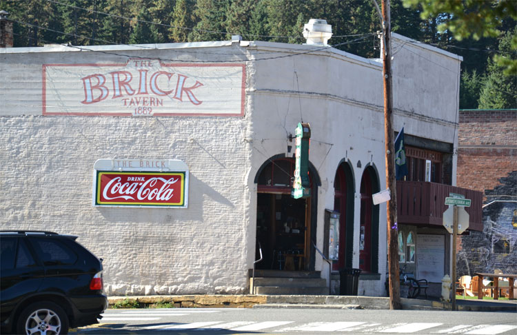 The Brick, Roslyn, Washington, USA © Alfred Rohrmoser