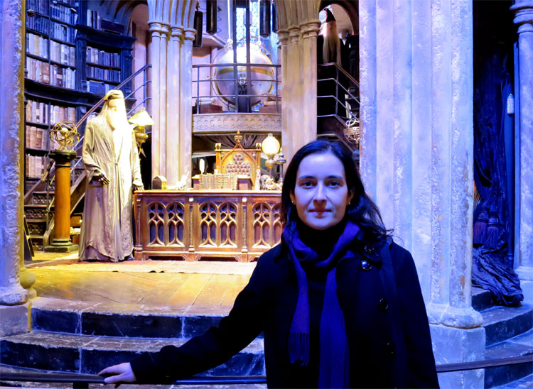 Dumbledores Büro, Warner Bros. Studio Tour London © Andrea David