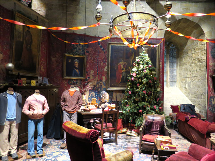 Gemeinschaftsraum Gryffindor, Warner Bros. Studio Tour London © Andrea David