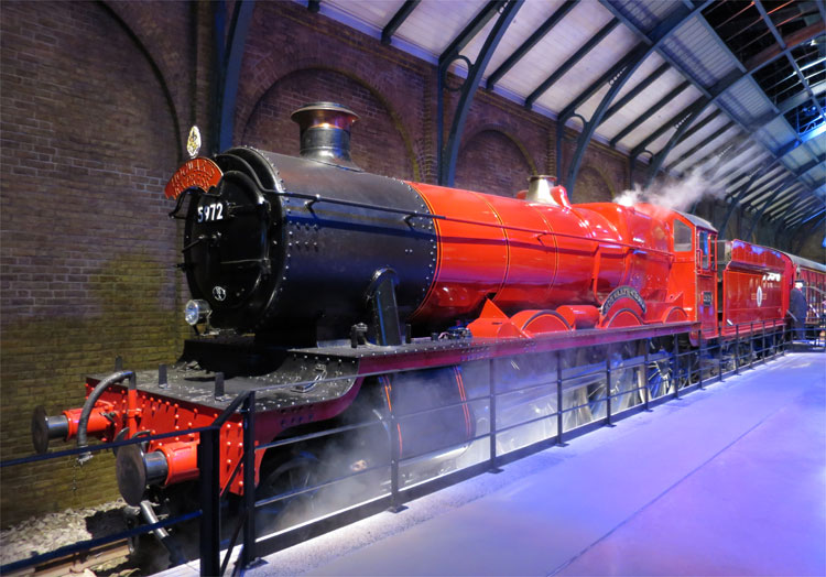 Hogwarts Express, Warner Bros. Studio Tour London © Andrea David