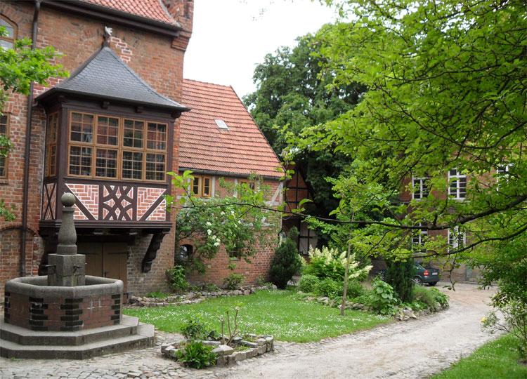 Innenhof der Heilig-Geist-Kirche, Wismar © Matthias Gebauer