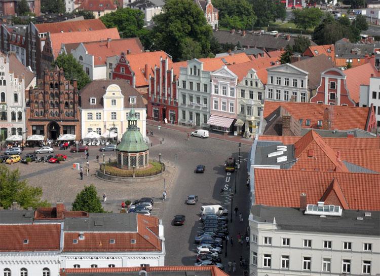 Marktplatz, Wismar © Matthias Gebauer
