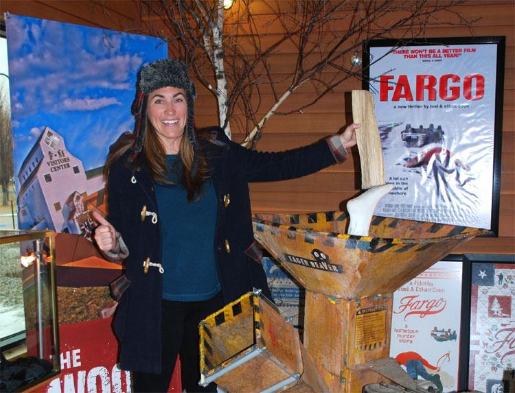 "Der ""Fargo"" Wood Shipper © Fargo-Moorhead Convention & Visitors Bureau"
