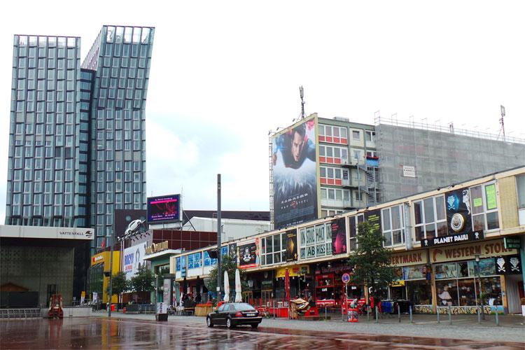 Tanzende Türme, Reeperbahn, Hamburg © Andrea David