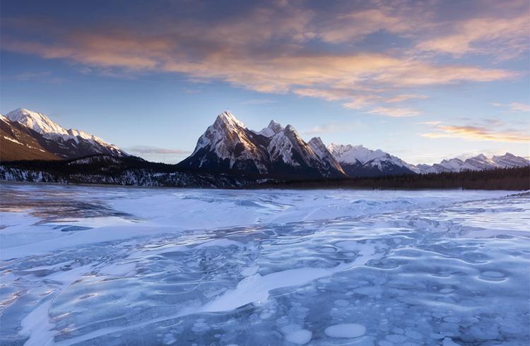 Abraham Lake, Alberta, Kanada © Sarah Lyndsay Photography