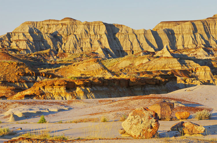Badlands, Alberta, Kanada © Hike Bike Travel