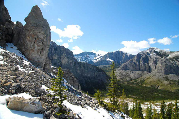 Bow Valley, Alberta, Kanada © Parks Canada