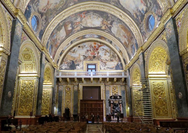 St. John's Co-Kathedrale, Valletta, Malta © Andrea David
