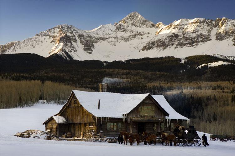 """Die Schmid Ranch als """"Minnie's Haberdashery"""" © Universum Film"""