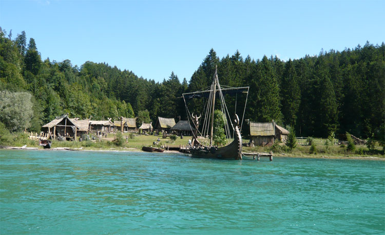 """Wickie""-Drehort, Walchsensee, Bayern © Bap Koller"