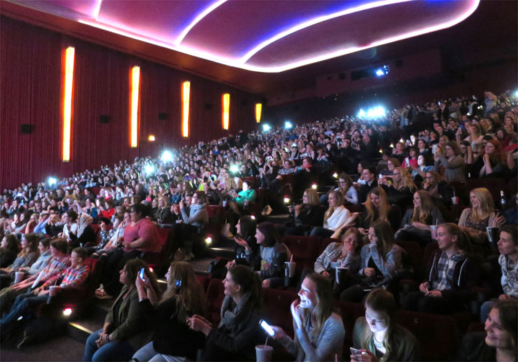 Kinotour im Cinemaxx Hamburg © Andrea David