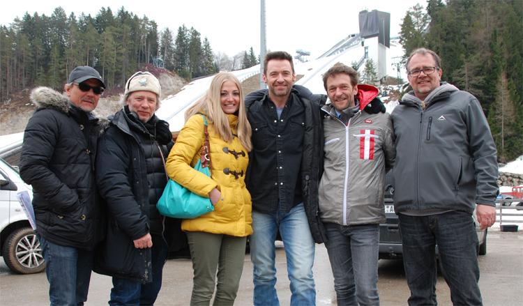 Dreharbeiten in Seefeld in Tirol © Cine Tirol Film Commission