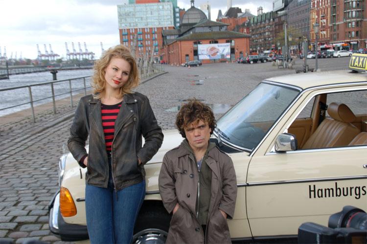 """Filmszene aus """"Taxi"""", Fischmarkt, Hamburg © Filmförderung Hamburg Schleswig-Holstein"""
