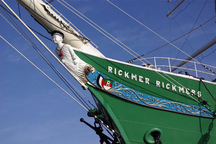 Museumsschiff Rickmer Rickmers, Landungsbrücken, Hamburg © Andrea David