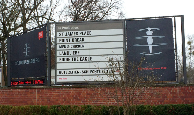 Studio Babelsberg, Potsdam © Andrea David