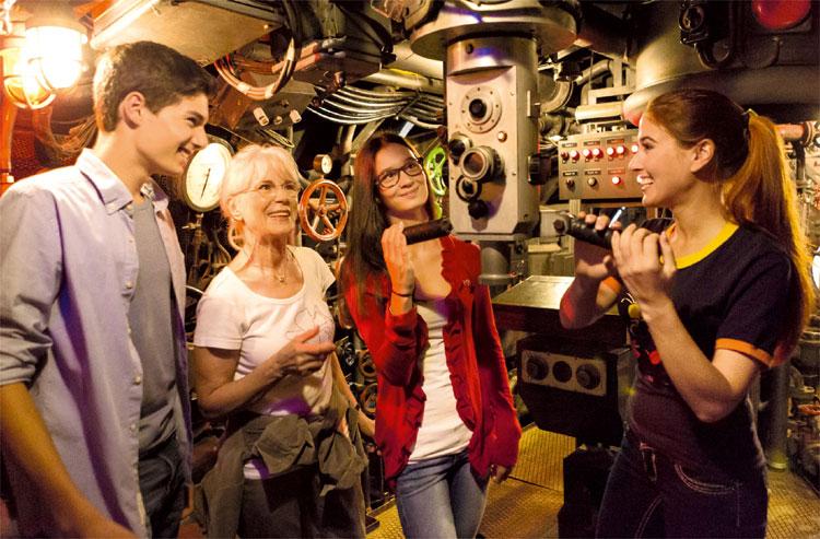 "Filmset aus ""Das Boot"", Bavaria Filmstadt © Bavaria Filmstadt"