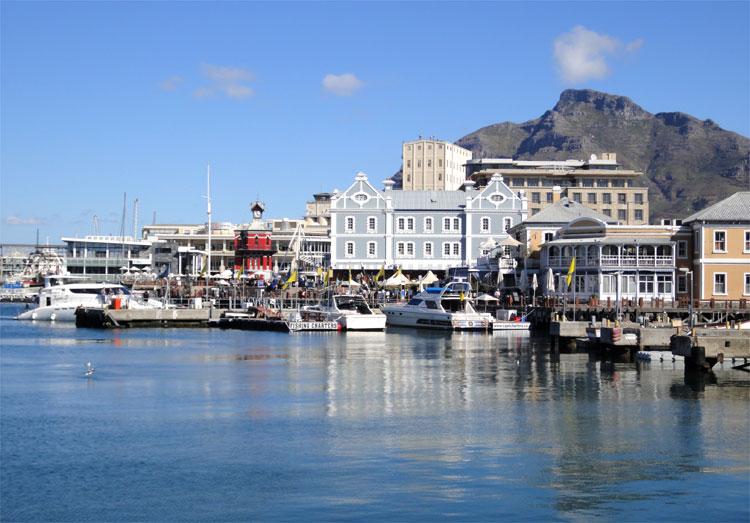 Victoria & Alfred Waterfront, Kapstadt, Südafrika © Andrea David