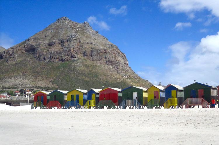 Muizenberg Beach, Südafrika © Andrea David