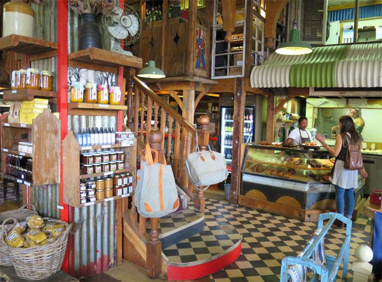 Classic Cape Cuisine Walk, Oude Bank, Stellenbosch, Südafrika © Andrea David