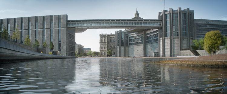 Drehort Reichstagufer, Berlin © 2016 Disney