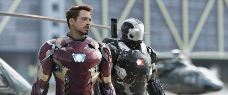 Iron Man (Robert Downey junior) © 2016 Disney