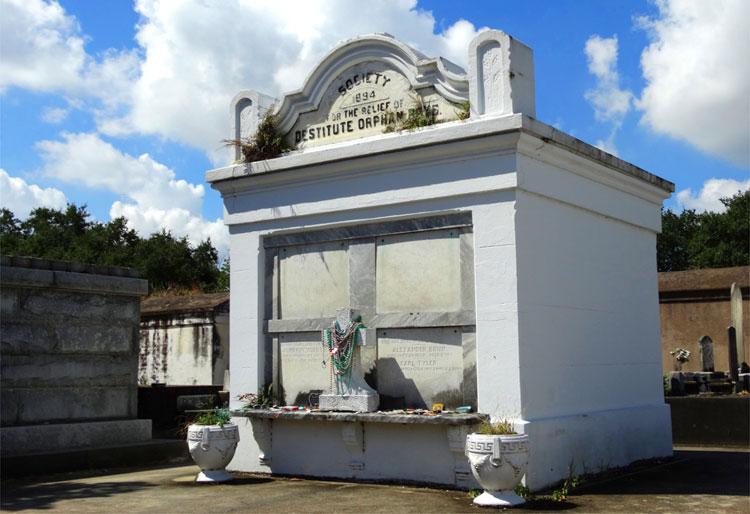 "Drehort aus ""The Originals"", Lafayette Friedhof, New Orleans, Louisiana © Mandy Decker / Travelroads"