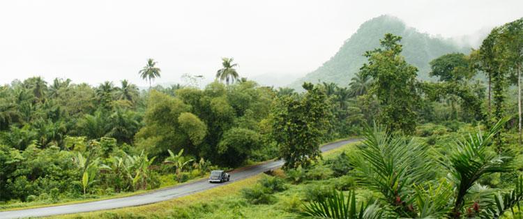 """Szene aus """"Vor der Morgenröte - Stefan Zweig in Amerika"""" in Sao Tomé © X Verleih"""