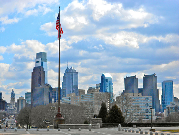Drehort Philadelphia