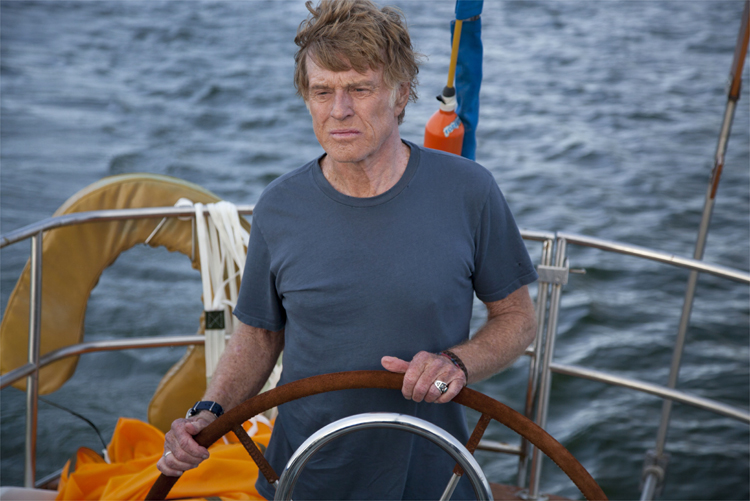 "Robert Redford in ""All Is Lost"" © SquareOne Entertainment"