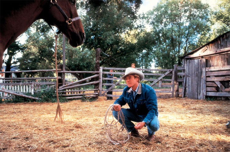 "Robert Redford in ""Der Pferdeflüsterer"" © Buena Vista International Film Production"
