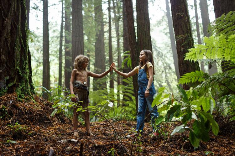 "Filmszene aus ""Elliot, der Drache"" in den Rotorua Redwoods © 2016 Disney"