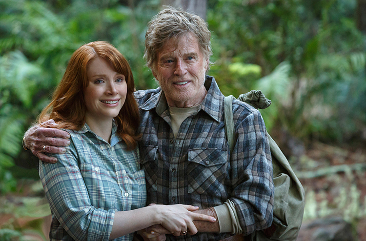 "Bryce Dallas Howard und Robert Redford in ""Elliot, der Drache"" © 2016 Disney"