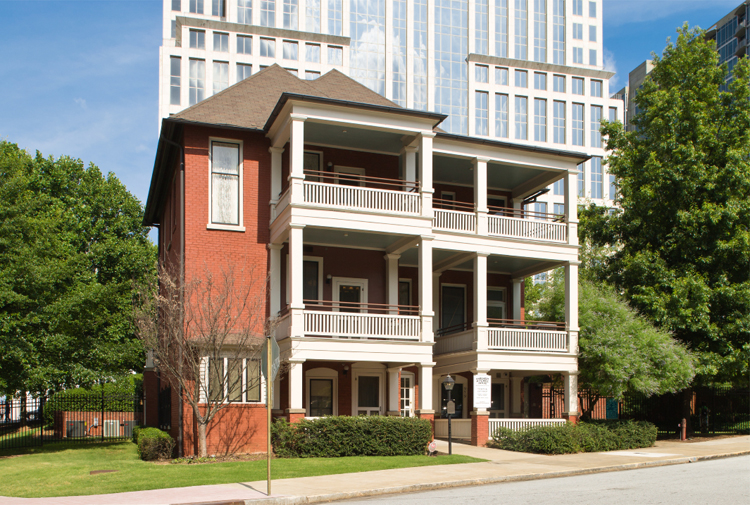 Margaret Mitchell House, Atlanta © Georgia Department of Economic Development