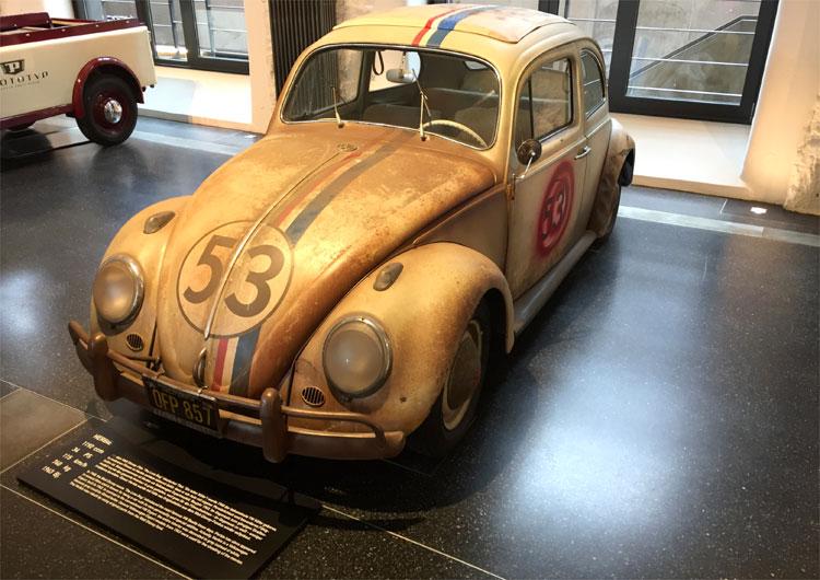 """Herbie"" im Prototyp Museum, Hamburg © Andrea David"