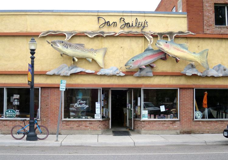 Dan Bailey's Fly Shop, Livingston, Montana © Andrea David