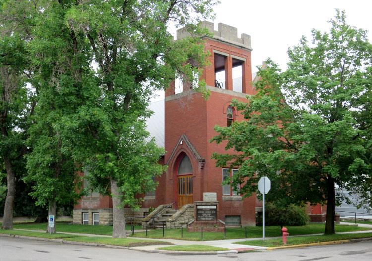 Redeemer Lutheran Church, Livingston, Montana © Andrea David