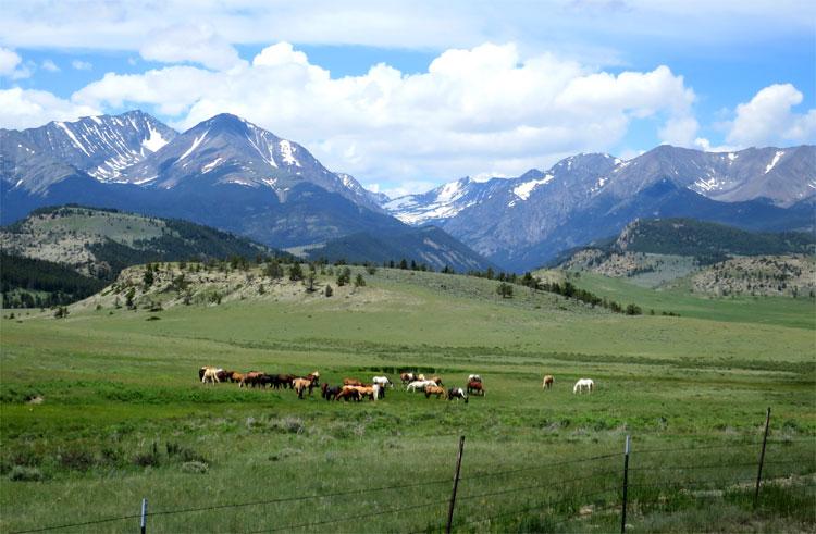 Crazy Mountains, Montana © Andrea David