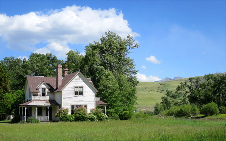 """Pferdeflüsterer"" Ranch, Boulder River, Montana © Andrea David"