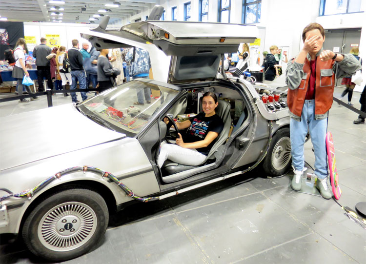 DeLorean auf der German Comic Con, Berlin © Andrea David